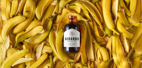 Banana Peel-Infused Rums