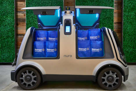 Driverless Grocery Deliveries