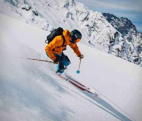 Anti-Fatigue Skier Exoskeletons