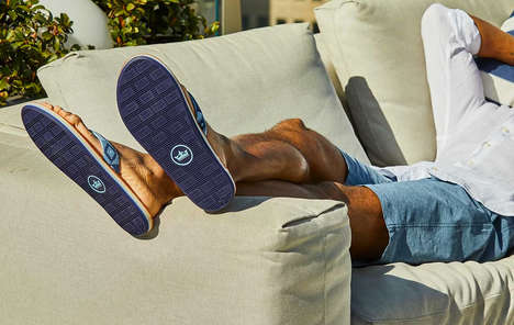 Arch-Supporting Antimicrobial Sandals