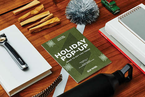 Male-Specific Holiday Gift Pop-Ups