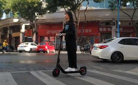 Comfort-Focused Urbanite Scooters