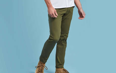 Fast-Paced Activity Chinos