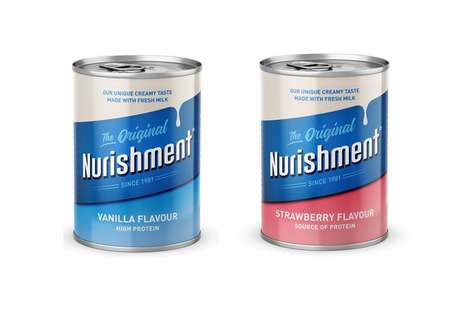 Modern Enriched Milk Packaging