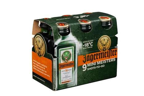 Revamped Liqueur Packaging