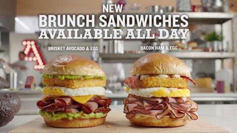 Loaded Brunch Sandwiches