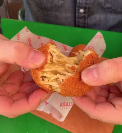 Deep-Fried Pasta Fritters
