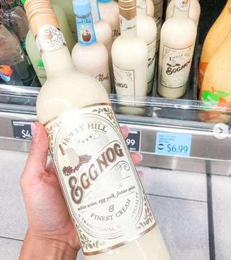 Boozy Pre-Mixed Eggnogs