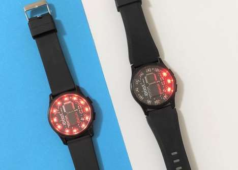 Arduino-Compatible Printed Watches