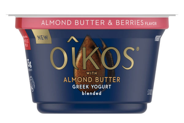 Nut Butter Yogurt Blends Greek Yogurt With Almond Butter