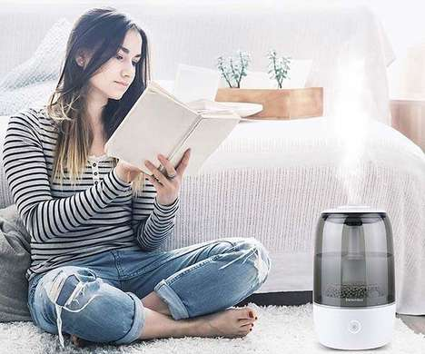 Connected Smart Home Humidifiers