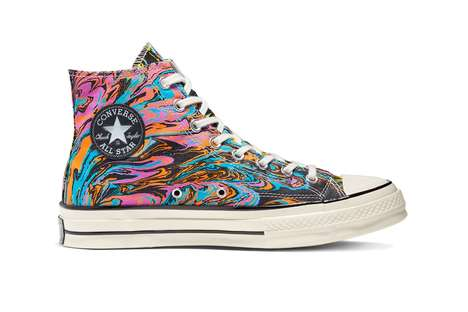 Psychedelic Vibrany Casual Shoes