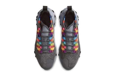 Military-Honoring Vibrant Sneakers
