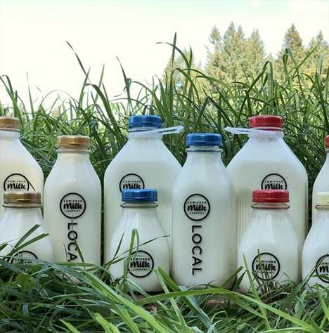 Farm Fresh Milk Deliveries