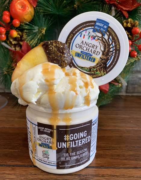 Cider-Infused Ice Creams