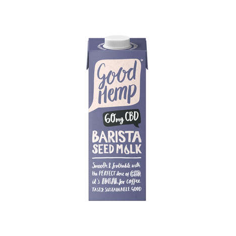 CBD-Infused Milk Alternatives