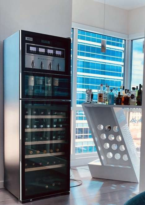 Temperature-Controlled Wine Dispensers