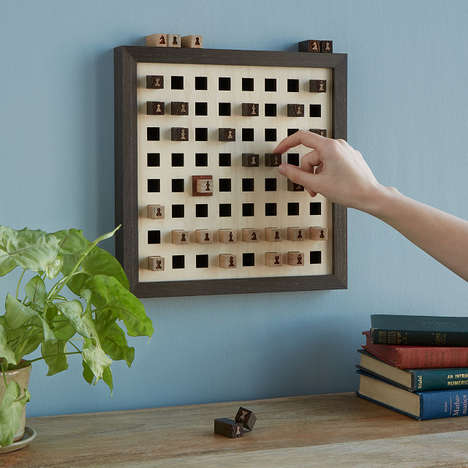 Decorative Wall-Mounted Board Games