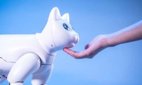 Bionic Robotic Pet Cats