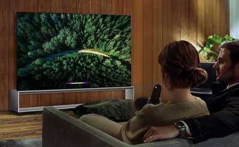 Content-Upscaling TVs