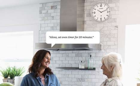Connected Voice-Activated Clocks