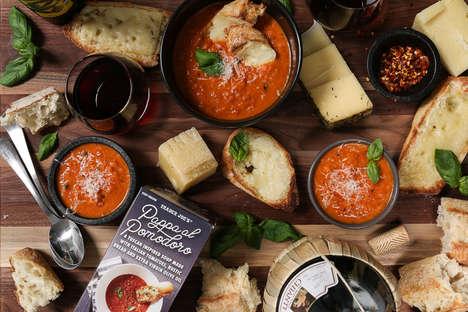 Tuscan Tomato-Bread Soups
