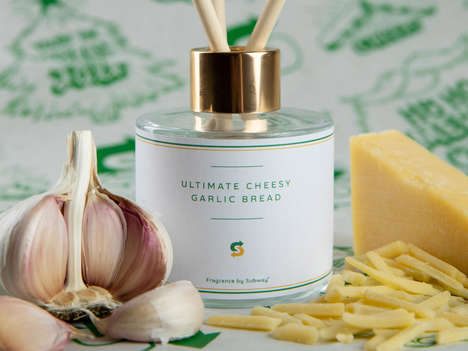 Garlic-Scented Reed Diffusers