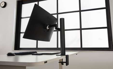 Ergonomic Swiveling PC Displays