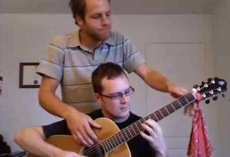2 Man Guitars - Antoine Dufour & Tommy Gauthier Use Four Hands for Twice the Sound
