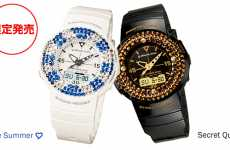 Rhinestone Sport Watches - Mio Goto Gives the G-Shock Mini a Nifty Twinkle