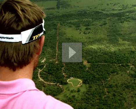 World's Longest Par 3 on a 1,400 Foot Elevated Golf Course