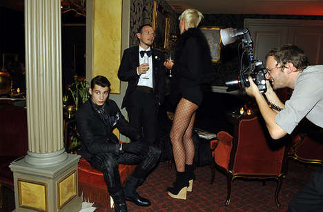 Lanvin Team Made the Party the Setting for Their Fall Campaign