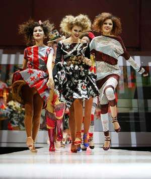 American High Fashion Excels in China