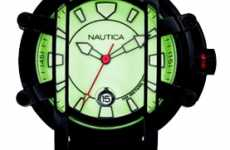 Designer Diving Watches - Nautica NMX 300 Makes Deep Sea Styles