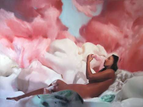 Cotton Candy Landscapes - Will Cotton's Scrumptious Pop Surrealism Looks Like Pink Heaven