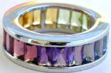 Rainbow Eternity Bands