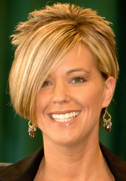 Kate Gosselin's Hair Stays Gorgeous, Despite Media Bashing