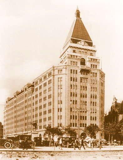 Oriental Art Deco Architecture