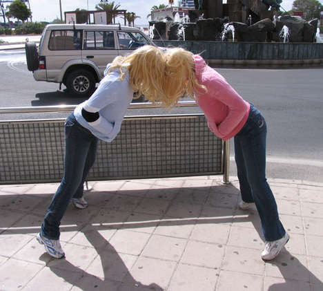 Guerrilla Head-Butting - Live Interactive Art in the Streets by Mark Jenkins