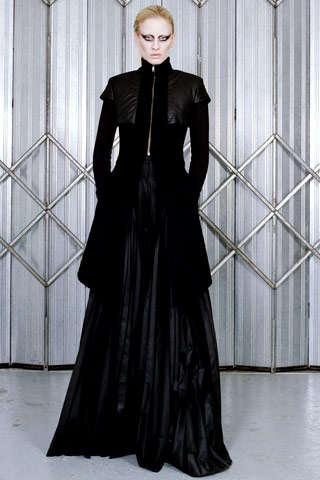 Futuristic Goth Fashion