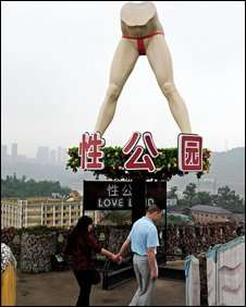 Scandalous Theme Parks - Love Land Adult Park Opens Its Doors in China