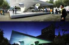 Futuristic Greenchitecture - Burnham Eco Pavilions by Zaha Hadid and UNStudio