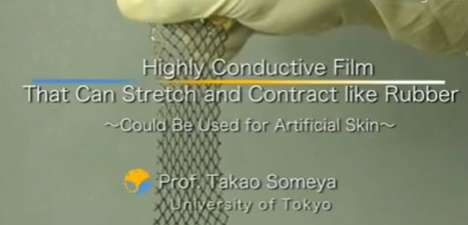 University of Tokyo Creates Sensor Packed Skins