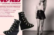Wedge Buckle Boots - Chloe Sevigny Teams With Opening Ceremony for Footwear