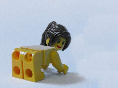 LEGO Characters Placed in Compromising Positions
