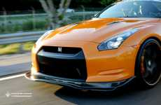Solid Gold Supercar Killers Wrapstyle Gold Nissan Gt R