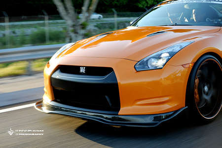$84,800 Nissans - Orange Nissan GTR Supercar Has $35,000 Worth of Extras