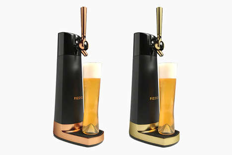 Draft-Like Libation Dispensers