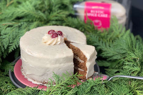 Rustic Christmas Cakes