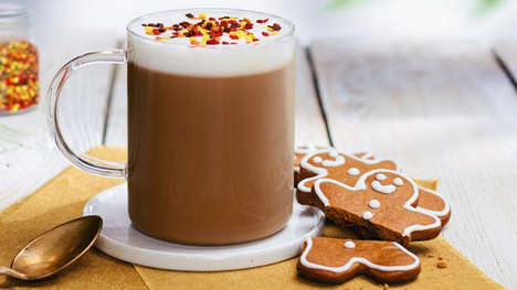 Gingerbread Cookie Coffees